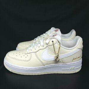Nike Air Force 1 '07 PRM EMB 'Popcorn CW2919-100 Size 6 / Women's Sz 7.5 B grade