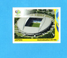 PANINI-GERMANY 2006-Figurina n.10- LEIPZIG - ZENTRALSTADION -NEW BLACK