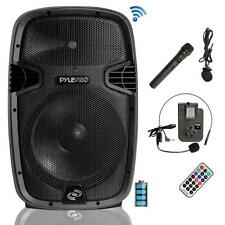 Pyle PPHP1541WMU Wireless & Portable Bluetooth Loudspeaker - Active PA System