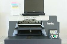 Anajet Sprint DTG printer with laptop, ink, extras