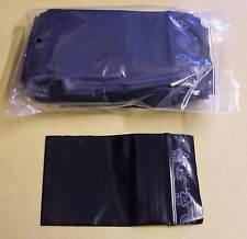 1000 Tütchen Polybeutel 60 x 80 schwarz  black Druckverschlussbeutel Zip Tüten