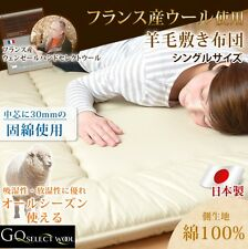 FUTON mattress shikifuton France wool all season single long size made in japan