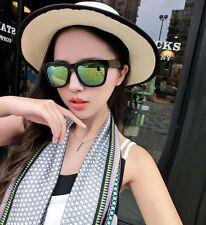 Women Men Vintage Retro Glasses Unisex Fashion Aviator Mirror Lens Sunglasses