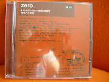 CD – ZERO A MARTIN HANNETT STORY 1977 1991 – PUNK NEW WAVE PRODUCER COMPILATION