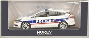RENAULT MEGANE IV ESTATE 1.5 DCI 2016 POLICE NATIONALE NOREV 1/43