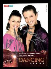 Eva Marold und Thomas Kraml Autogrammkarte Original Signiert ## BC 156874