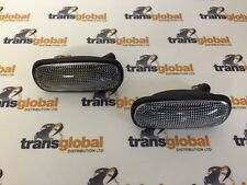 Land Rover Freelander 1 02> Clear Oval Side Indicator Repeater x2 - Bearmach