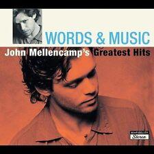 Words & Music: John Mellencamp's Greatest Hits by John Mellencamp (CD,...