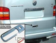 TRUNK REAR DOOR HANDLE COVER CHROME VW GOLF 4 3 T5 TRANSPORTER POLO CADDY SHARAN