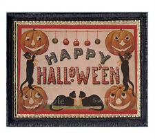 Happy Halloween Miniature Dollhouse Picture