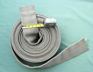 "2 ½"" x 24' Single jacket Fire hose"