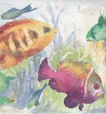 Wallpaper Border / Tropical Fish / Waverly 5500790