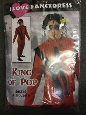 Halloween Michael Jackson Pop Star 80S icona Thriller Costume MEDIO