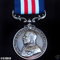 BRAVERY IN THE FIELD MILITARY MEDAL GEORGE 5TH BRITISH ARMY AWARD REPRO HONOR UK