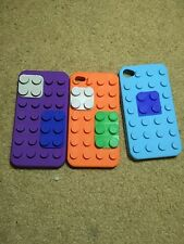 iPhone 4/4s Silicone Lego case pack
