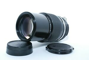 """""""EXCELLENT+++"""" NIKON Ai NIKKOR 200mm F4 Telephoto MF Lens From JAPAN"""