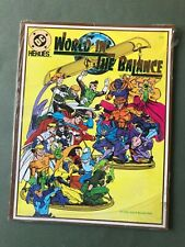 DC Heroes World in the Balance Role Playing Game Adventure Mayfair 1992 SEALED