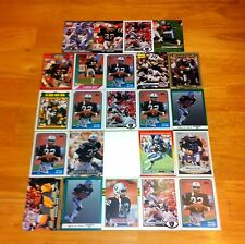 MARCUS ALLEN LOT OF 24 FOOTBALL CARDS USC TROJAN LA RAIDERS NFL HOF RUNNING BACK