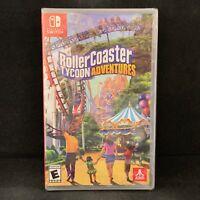 RollerCoaster Tycoon Adventures (Nintendo Switch) BRAND NEW