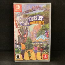 RollerCoaster Tycoon Adventures (Nintendo Switch) BRAND NEW