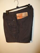 Ruff Hewn Ladies Cargo Shorts Washed Black Size 16P NWT MSRP $59.00