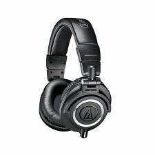 Audio Technica ATH-M50X Pro Monitor Studio Headphones Black 3 Detachable Cable