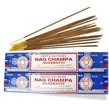 Räucherstäbchen 2 x Nag Champa Blau Nagchampa Satya Sai Baba Nagchampa indien