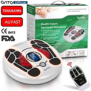 OSITO TENS & EMS Electric Pulse Foot Massager Muscle Stimulation Physiotherapy