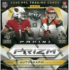 Panini Prizm NFL Football 2020 Mega Box - 40 Cards (10 Packs, 4 Cards per Pack)