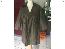 Trench Imper CYRILLUS taille 36 lin marron