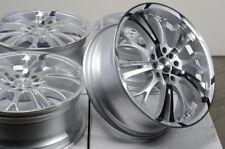 17x7 5x100 5x114.3 Silver Wheels Fits Civic Lexus Is200T Is250 Is250C 5 Lug Rims