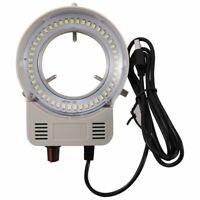 48 LED Microscopio Industriale Telecamera Sorgente Luminosa Anello Lampada  O3B3