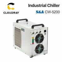 S&A CW-5200 Industry Water Chiller 110V 60Hz for Laser Cutting 2 Years Warranty