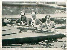 Hradetzky Austria Eberhardt France Hörmann Germany Canoeing OLYMPIC GAMES 1936