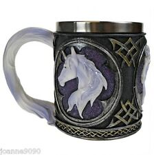 NEMESIS NOW UNICORN TANKARD WINE CUP PEGASUS GOTHIC MYSTERY FANTASY CHALICE PROP