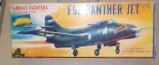 RARE 1955  AURORA  [4th release]) GRUMMAN F9F PANTHER 1/48  PARTS SEALED+ BONUS