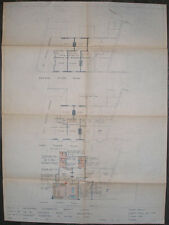 1948 NETHERFIELD CO-OPERATIVE SOCIETY NOTTINGHAM SHOP PLAN AN ARCHITECTS DRAWING