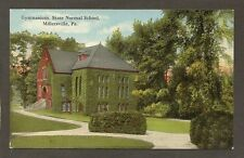 POSTCARD: GYMNASIUM - MILLERSVILLE STATE NORMAL SCHOOL - MILLERSVILLE UNIVERSITY