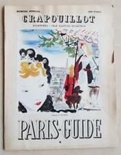 LE CRAPOUILLOT Numéro Spécial PARIS-GUIDE 1951 - cabaret spectacle ... Dignimont