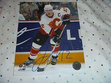 Jarome Iginla Calgary Flames/Colorado Avalanche  Signed/Auto 8x10 Photo  COA