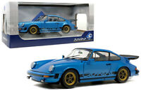 1/18 Solido 1984 Porsche 911 3.0 Carrera Coupe Diecast Model Car Blue S1802601