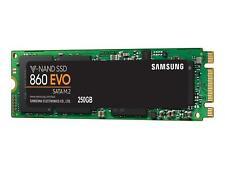 Samsung M.2 SSD 860 EVO 250GB / 550 MBps (lesen)/ 520 MBps (Schreiben) / intern