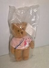 Avon Breast Cancer Crusade Beanie Bear New With Tags Sealed Bag!