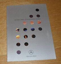 Mercedes CL Coupe Launch Brochure 1999 - CL500 CL600