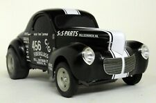 Acme 1/18 Scale S&S Parts Filthy Forty Willys Gasser Black diecast Model Car