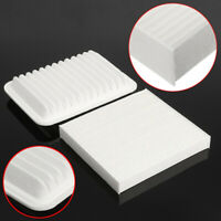 Combo Engine & Cabin Air Filter For 09-18 Toyota Corolla 2008-2014 White