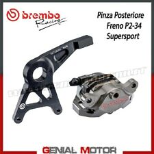 Pinza Posteriore Freno Brembo Racing P2 34 CNC SSport pastiglie e staffa Honda