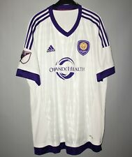ORLANDO CITY SC USA 2015/2016 AWAY FOOTBALL SHIRT JERSEY ADIDAS