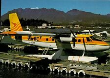 C2684mdt TransportA AirBC Airlines DHC6 Twin Otter Aircraft postcard