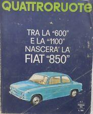 V1109 LIBRO QUATTRORUOTE ANNO IX N.2 FASC. 98° DEL FEBBRAIO 1964
